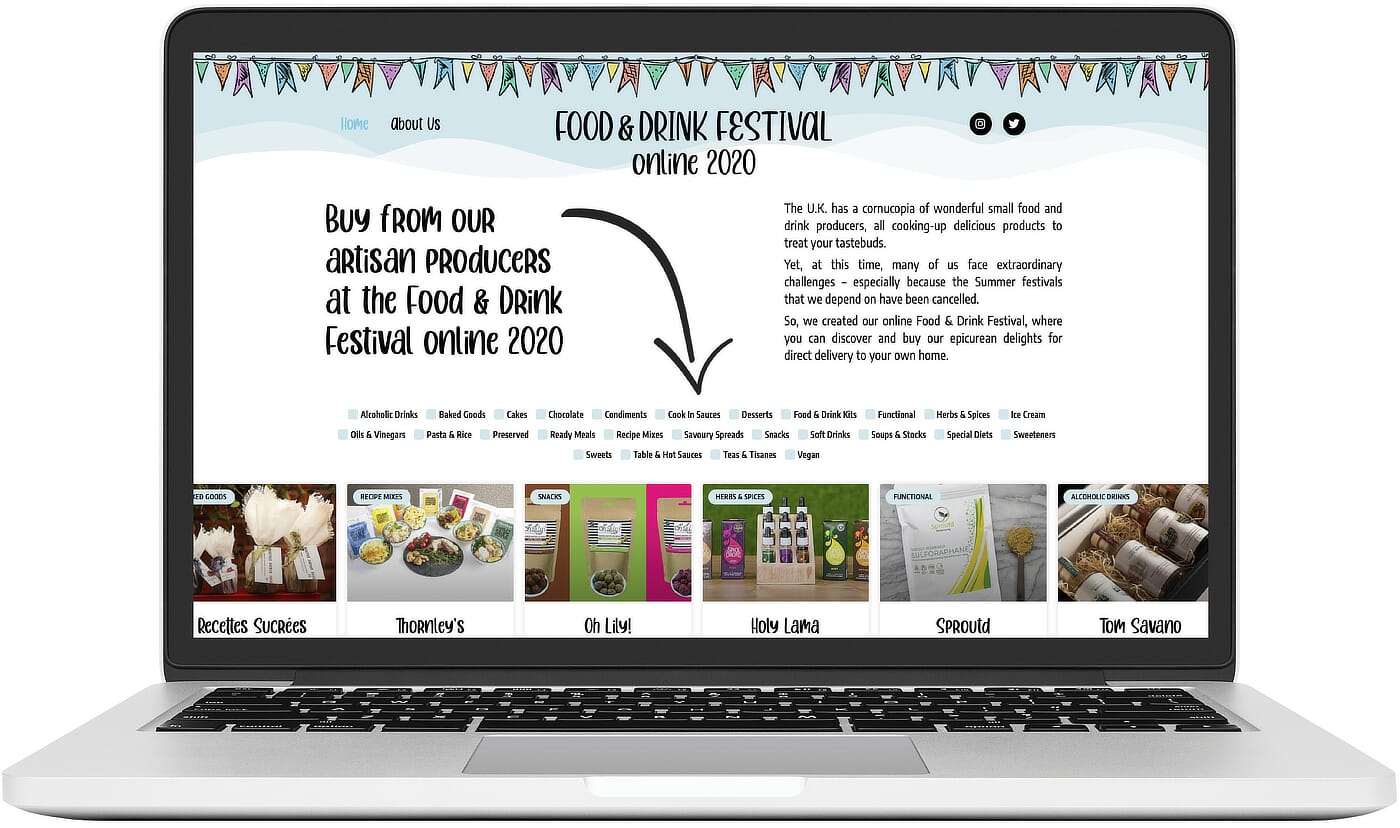 Richs Kitchen Website Work Food Drink Festival Image