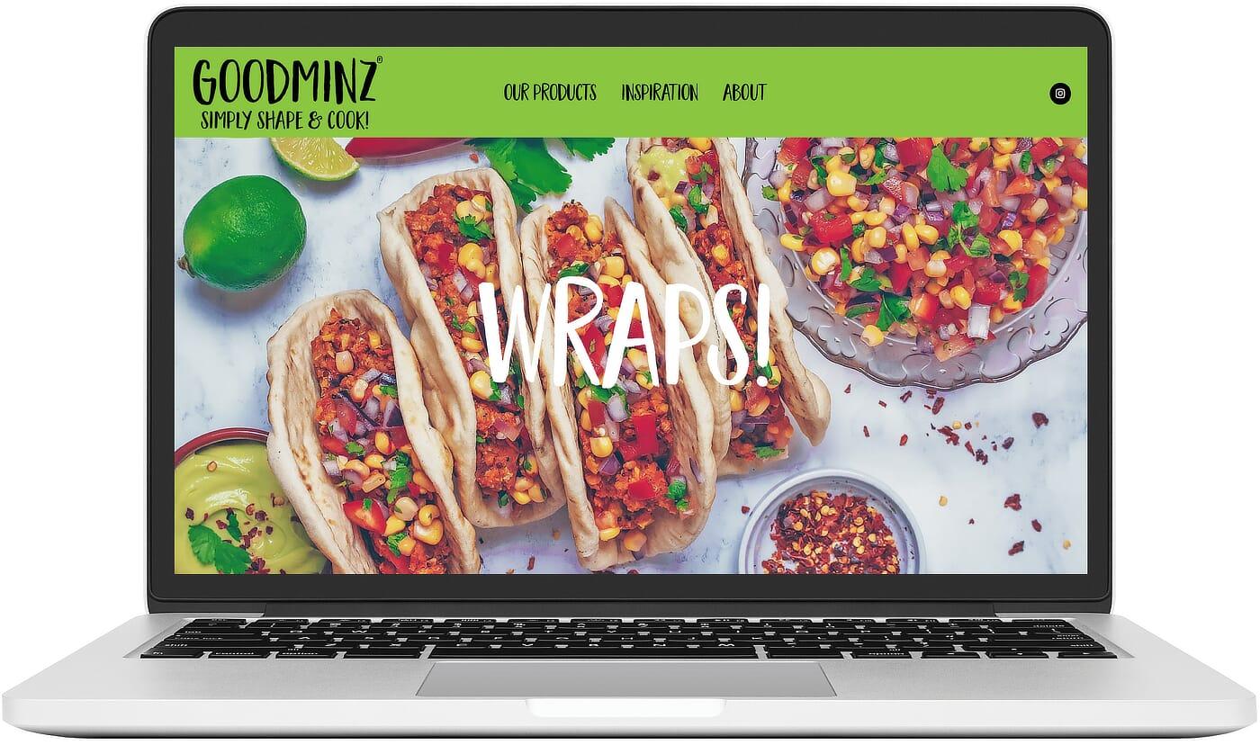 Richs Kitchen Website Work GOODMINZ Image