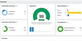Richs Kitchen Free Site Audit Overview Image